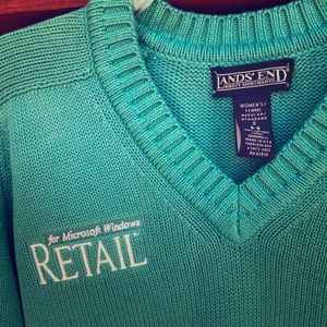 Vintage 80s 90s Microsoft Windows sweater Small
